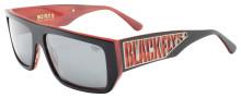 Black Flys Sci Fly 8 Sunglasses - Matte Black/Red - Smoke Polarized