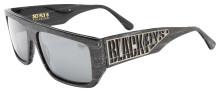 Black Flys Sci Fly 8 Sunglasses - Grey Wood - Smoke Polarized