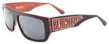 Black Flys Sci Fly 8 Sunglasses - Matte Black/Red - Smoke