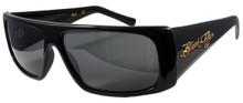 Black Flys Fly Straight sunglasses - gloss black/ polarized