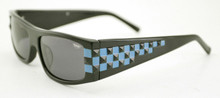 Black Flys Ska Fly sunglasses - shiny black/ blue