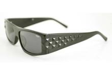 Black Flys Ska Fly sunglasses - matte black/ matte black studs