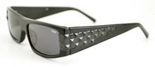 Black Flys Ska Fly sunglasses - shiny black/ shiny black studs