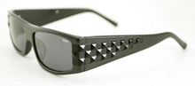 Black Flys Ska Fly sunglasses - matte black/ shiny black studs
