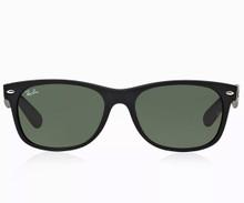 Ray Ban New Wayfarer sunglasses - Blk Rubber 52mm
