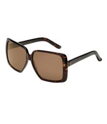 Roxy Hollypop sunglasses - dark tortoise