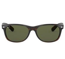 Ray Ban New Wayfarer sunglasses - RB2132 tort/crys grn large