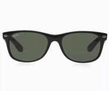 Ray Ban New Wayfarer sunglasses - RB2132 blk/crys grn 52mm
