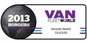 TRACKER wins 2013 Van Fleet World Security Award