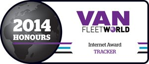 TRACKER wins 2014 Van Fleet World internet award