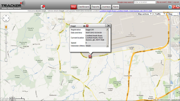 you can view detailed information of traffic information, congrestion zone and best driving directions