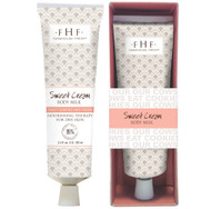 Sweet Cream Body Milk Travel Lotion 2.4 oz tube with decorative box