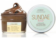 Sundae Best Chocolate Softening Mask with CoQ10 3.25 oz. glass jar 14-18 applications