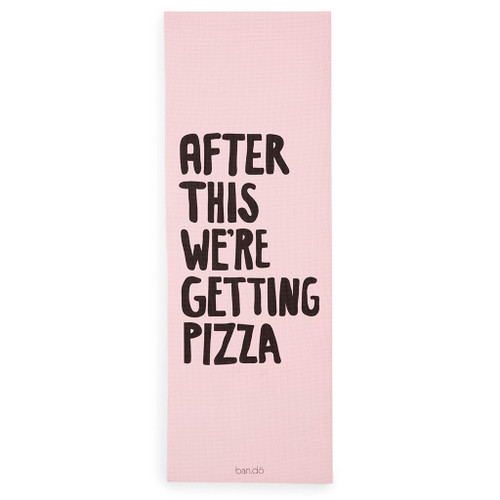 Work It Out Exercise Mat- After This We Are Getting Pizza