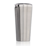 Brushed Steel 16oz. Tumbler