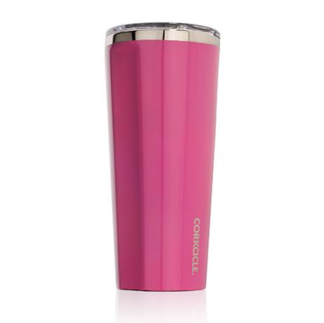 Gloss Pink 24oz. Tumbler