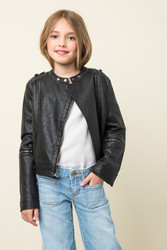 Girls Moto Jacket