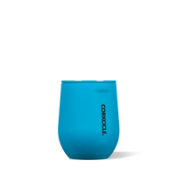 Neon Blue 12 oz. Stemless Wine Cup