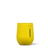 Neon Yellow 12 oz. Stemless Wine Cup