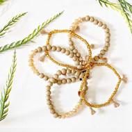 Taupe Stretch Bracelet