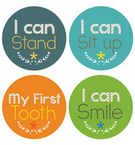 Little Boy Achiever Milestone Stickers