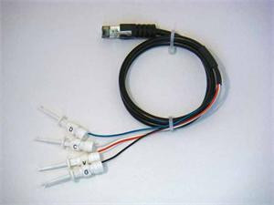I2C & SMBus Clip Lead Cable 0.6 m (2 ft.) long