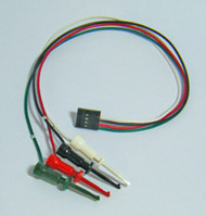 I2C Bus Mini Clip Lead Cable, 4-wire,1-ft (#I2CMCL)