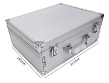 Silver Tattoo Kit Case