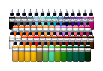 DC's Premium **Tattoo Pigment Ink**
