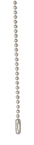 Sterling Silver 2.2 mm Bead Chain