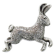 Jack Rabbit Brooch