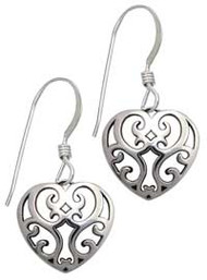 Juliet's Heart Earrings