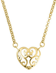 Small Juliet's Heart Necklace