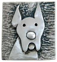 Great Dane Brooch