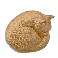 Cat Nap Brooch
