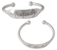 Baby Cuff Bracelet Sterling Silver