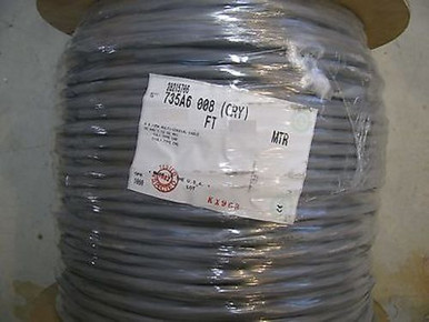 Belden 735A6 0081000 Cable 6x735A Coax AWG 26 SPC Video Wire 6C 250 Feet