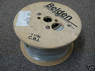 Belden 89907 50 OHM Coax Cable HighTemp RG58 Thinnet Wire 500FT