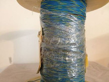 High Temperature Teflon® Wire Gauge 26 (19Strands) Type E Blue-Yellow 1000ft