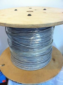 High Temperature Mid Capacitance Plenum Cable 24/3 Pairs AWG 24 Wire 24/6 100FT