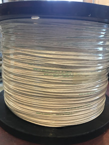 BMS13-58T01C01G016 Aircraft Wire Nickel PTFE AWG 16 White 1x3000 Feet
