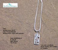 "Express your ""FAITH"" pendant"