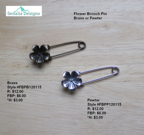 'Full Bloom' Brooch