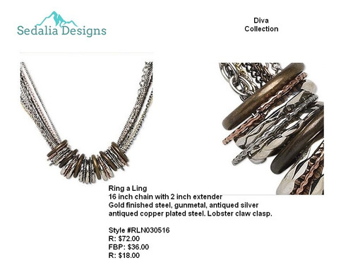 'Ring a Ling' Diva Collection