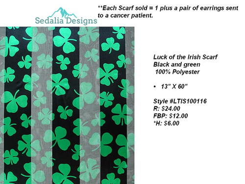 Luck of the Irish scarf