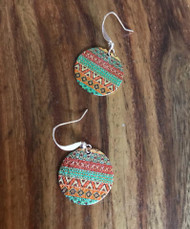 Resell for 9.00 or more Enameled copper  Copper earwires Style #CEE110417g