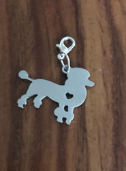 Resell for 12.00 or more Stainless steel poodle