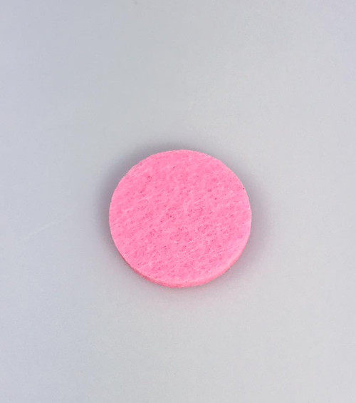 Resell for 3.00 or more 22 mm felt oil diffuser pad Pink Style #PDP051018
