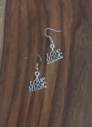 Resell for 6.00 or more Pewter I love music