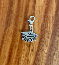 resell for 9.00 or more  Pewter 2020 graduation bauble use on charm bracelets/ necklaces/ back packs, purses/ key rings. Style #20GB120518